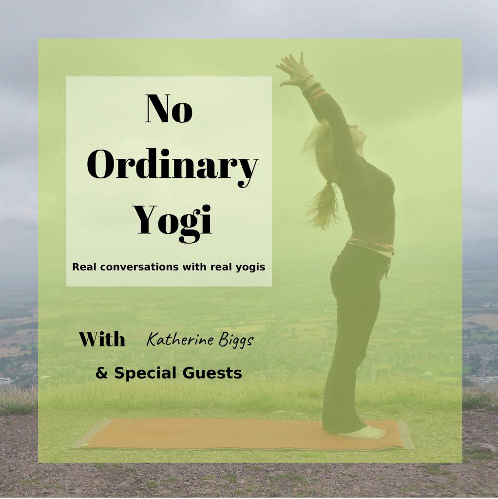 No Ordinary Yogi Podcast Logo